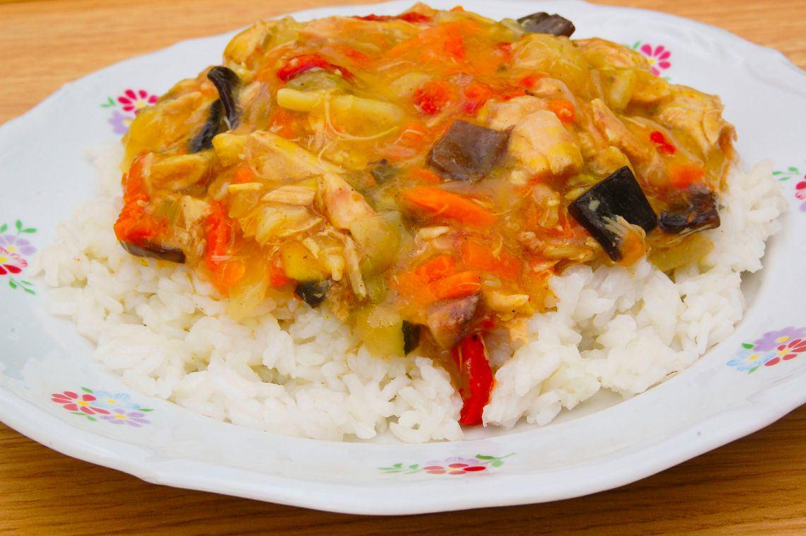 Potrawka z kurczaka po chińsku