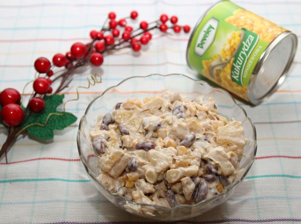Salatka Z Czerwonej Fasoli I Ananasa Smaczne Przepisy