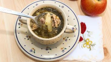 Zupa z jabłek