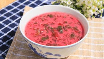 Zupa z botwiny