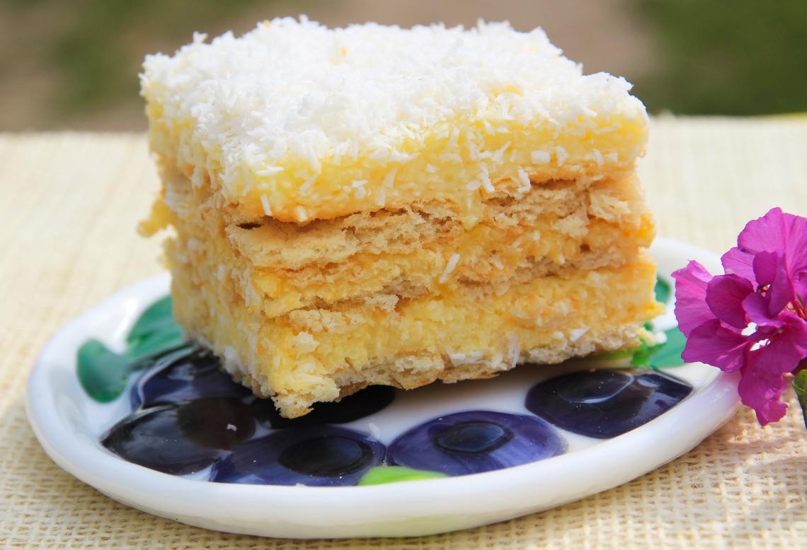 Ciasto rafaello bez pieczenia na krakersach