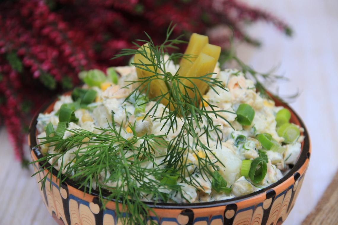 Sałatka z tuńczyka i ziemniaków
